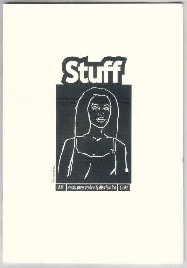 STUFF #14 mini-comics reviews & catalog 2001 Paul Houston