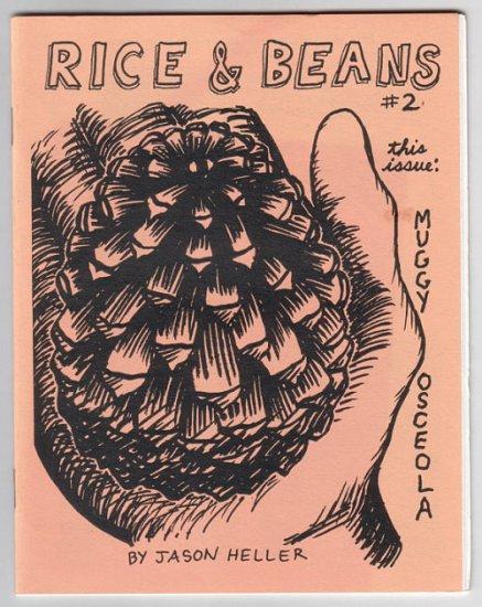 RICE & BEANS #2 mini-comic JASON HELLER 1994 comix