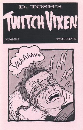TWITCH VIXEN #2 mini-comic edited by D. Tosh