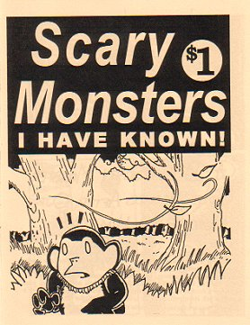 SCARY MONSTERS I HAVE KNOWN mini-comic D. TOSH