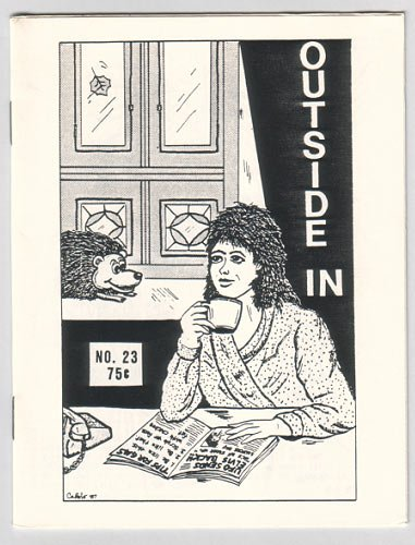 OUTSIDE IN #23 Jeff Gaither PETER BAGGE Wayno 1987