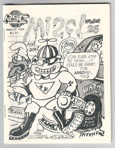 MISC #25 mini-comic FEAZELL Foster UPTON 1988 HSC