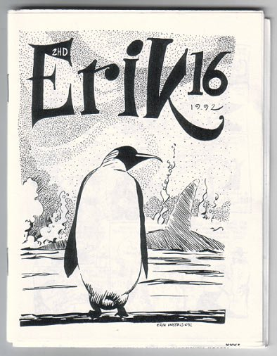 ERIK'S TWO-HEADED DOG #16 mini-comic ERIK WEEMS 1992