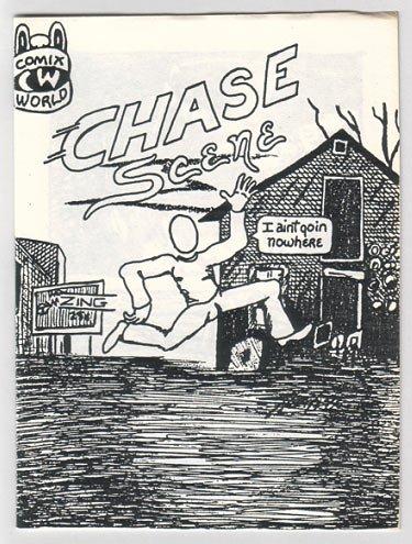CHASE SCENE mini-comic BOB SHERIDAN 1985