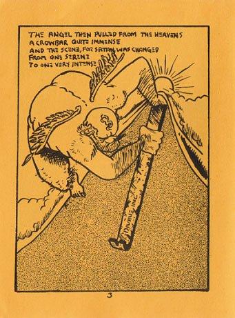 SATIN SATAN mini-comic BRUCE STENGL 1992
