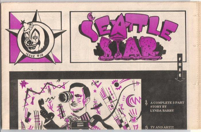 SEATTLE STAR #14 Peter Bagge J.R. WILLIAMS Steve Willis 1988