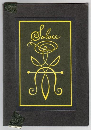 SOLACE art book TRIANGLE-SLASH Ashleigh Talbot 1995 OOP