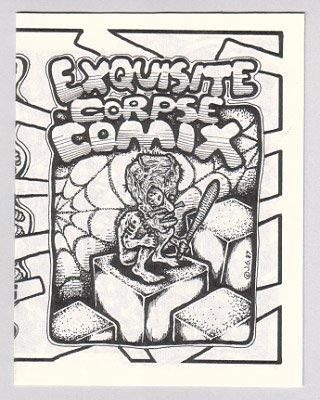 EXQUISITE CORPSE COMIX #14 Bill Shut JEFF GAITHER 1990