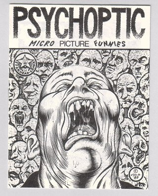 PSYCHOPTIC mini-comic JIM BLANCHARD 1989