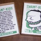 SWAMP KIDS trading card set MAX ESTES silkscreened 2002