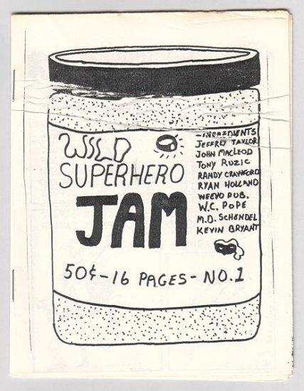 WILD SUPERHERO JAM #1 mini-comic JOHN MACLEOD Graham Annable 1987
