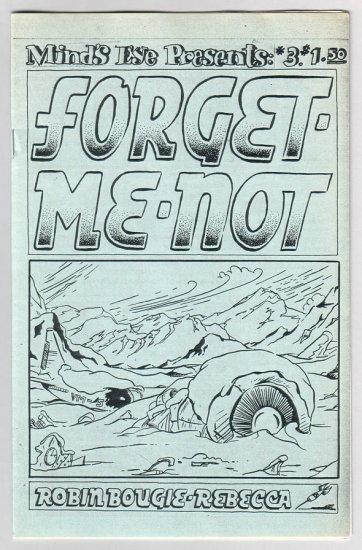 MIND'S EYE PRESENTS #3 mini-comic ROBIN BOUGIE Rebecca Dart 1995