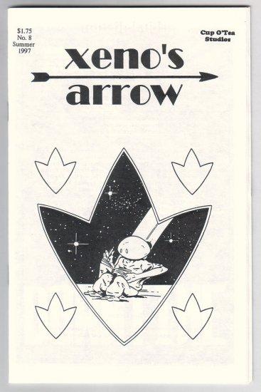 XENO'S ARROW #8 mini-comic GREG BEETTAM 1997