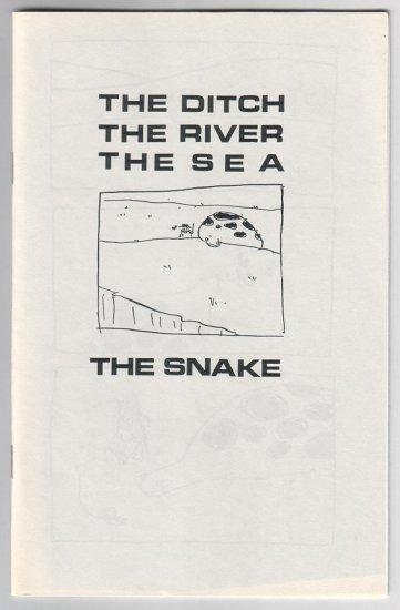 THE DITCH, THE RIVER mini-comic TOM HART 1996