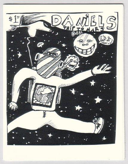 DANIEL'S TRIP TO MARS mini-comic DANNY SHAW 1994