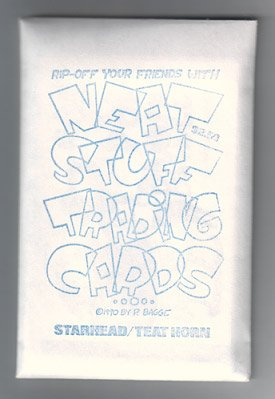 NEAT STUFF trading cards PETER BAGGE 1990 out of print