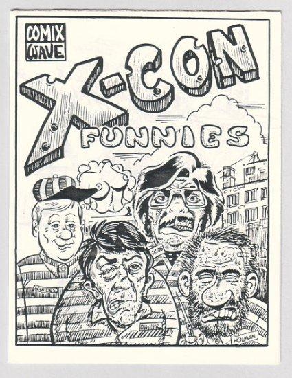 X-CON FUNNIES mini-comic J.R. WILLIAMS Brad Foster 1985 SDCC