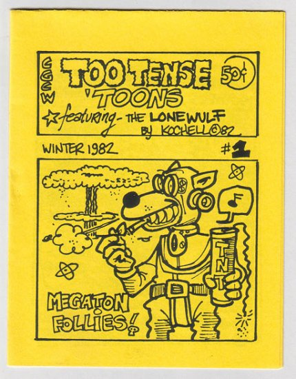 TOO TENSE TOONS underground comix GEORGE KOCHELL 1982