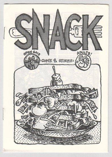 SNACK COMIX #1 Australian mini-comic IAN EDDY 1982