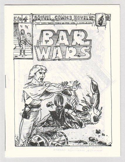 BAR WARS #4 Canadian newave comix JACK D. ZASTRE 1981