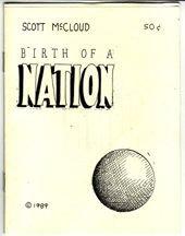 BIRTH OF A NATION mini-comic SCOTT MCCLOUD 1989 *SALE 40% off