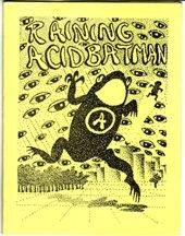 RAINING ACIDBATMAN mini-comic SCOTT STEVENS 1987 *SALE 40% off