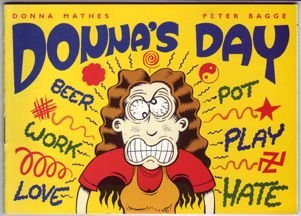 DONNA'S DAY minicomic PETER BAGGE 1999 *SALE 40% off