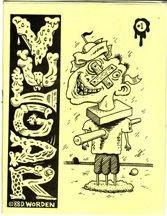 VULGAR #1 minicomic DENNIS WORDEN 1988