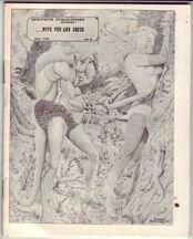 WITH PEN AND BRUSH #3 minicomic VINCE MARCHESANO 1972
