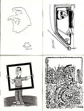 OUTSIDE IN #1-14 mini-comics lot STEVE WILLIS 1983-84