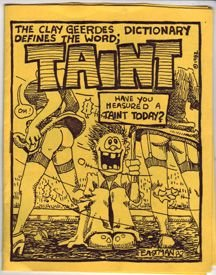TAINT mini-comic KEVIN EASTMAN 1982 Comix World *SALE 40% off