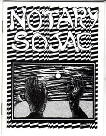 NOTARY SOJAC mini-comic JIM RYAN 1980 *SALE 40% off