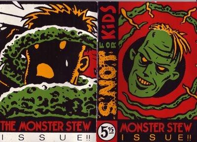 S'NOT FOR KIDS mini-comic MATSO 1990