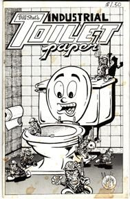 INDUSTRIAL TOILET PAPER #2 mini-comic MICHAEL RODEN Valentino BRAD FOSTER 1982 *SALE 40% off