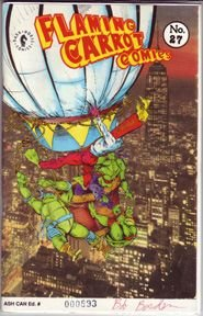 FLAMING CARROT ASHCAN #27 comix BOB BURDEN 1991 *SALE 40% off