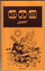 GAS COMIX mini-comic RICHARD MCMURRY 1983