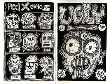 UGLY #1 mini-comic BOB X 1986 signed and numbered *SALE 40% off