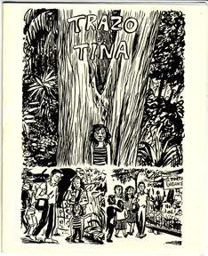 TRAZO DE TINA mini-comic JESSICA ABEL 2000 *SALE 40% off