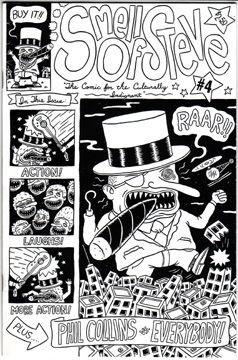 SMELL OF STEVE #4 mini-comic BRIAN S 1995 *SALE 40% off