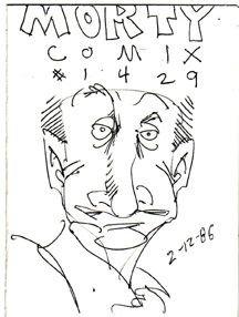 MORTY COMIX #1429 original art STEVE WILLIS 1986 *SALE 40% off