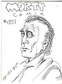 MORTY COMIX #1351 original art STEVE WILLIS 1985 *SALE 40% off