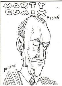 MORTY COMIX #1306 original art STEVE WILLIS 1985 *SALE 40% off
