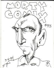 MORTY COMIX #993 original art STEVE WILLIS 1984 *SALE 40% off