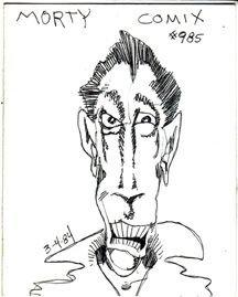MORTY COMIX #985 original art STEVE WILLIS 1984 *SALE 40% off