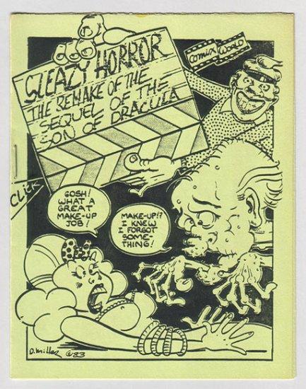SLEAZY HORROR #5 underground comix mini J.R. WILLIAMS Brad Foster 1983