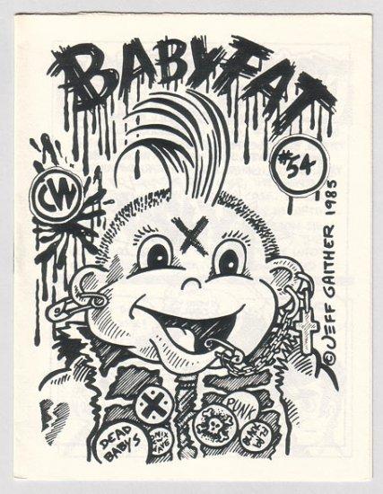 BABYFAT #54 mini-comic JEFF GAITHER Brad Foster underground comix 1985