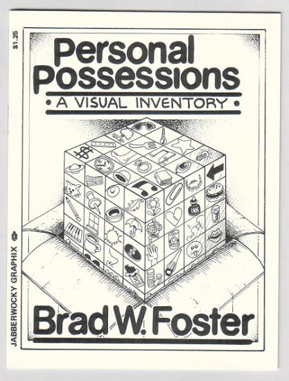 PERSONAL POSSESSIONS mini-comic BRAD FOSTER 1989