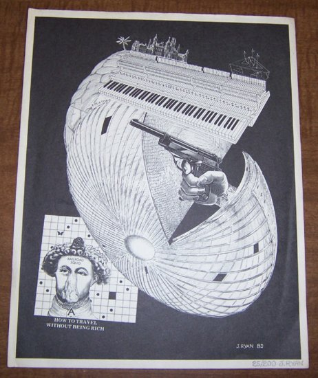 JIM RYAN print signed and numbered 1980 *SALE 40% off