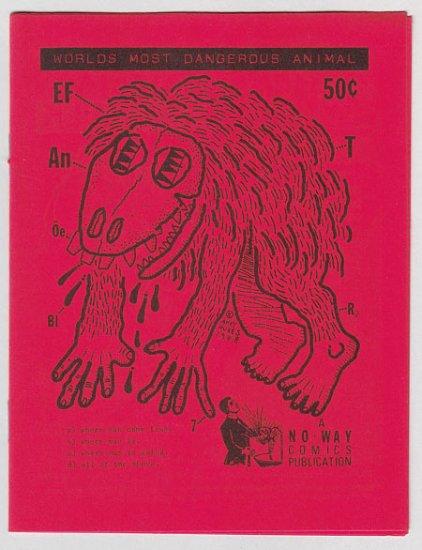 WORLD'S MOST DANGEROUS ANIMAL minicomic MARK MARTIN Wayno ANDY NUKES 1988