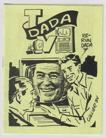 DADA TV mini-comic J.R. WILLIAMS Brad Foster STEVE WILLIS 1985